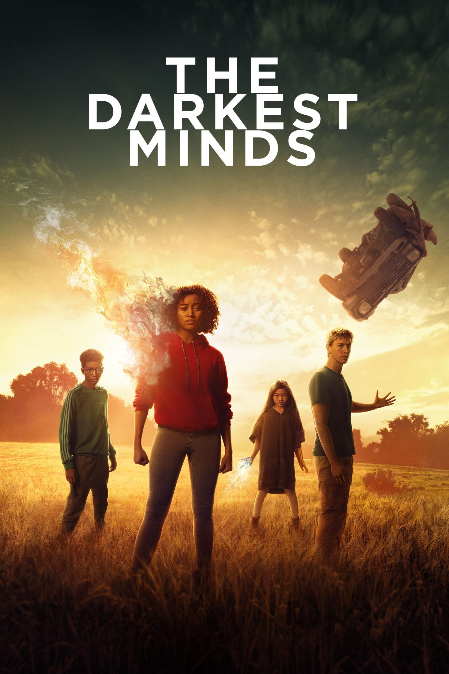 """Poster for the movie """"The Darkest Minds"""""""