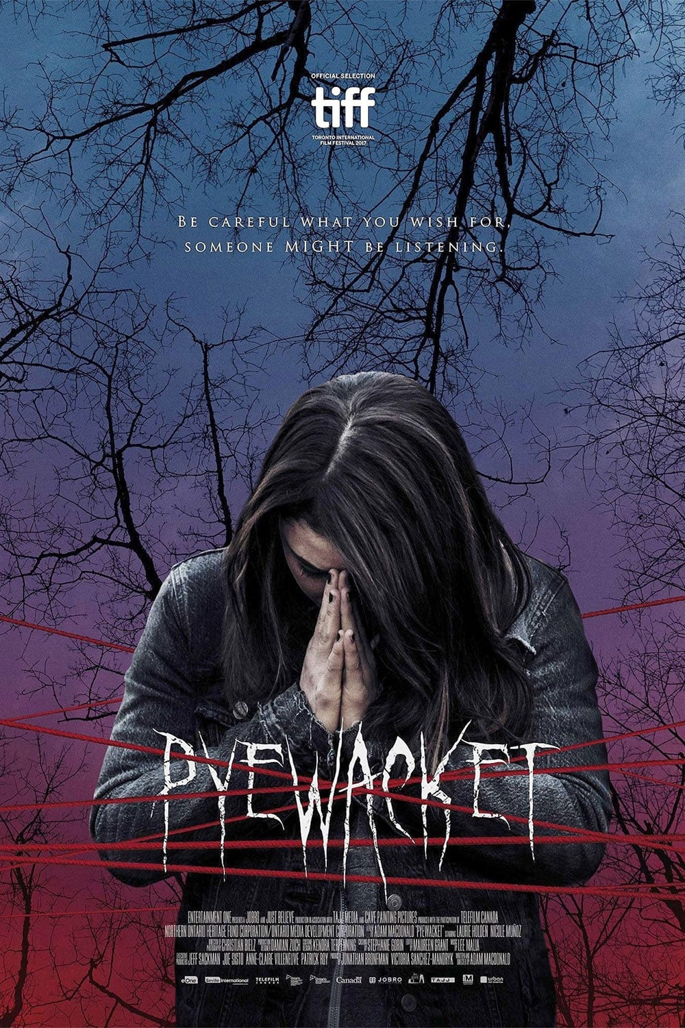 "Poster for the movie ""Pyewacket"""