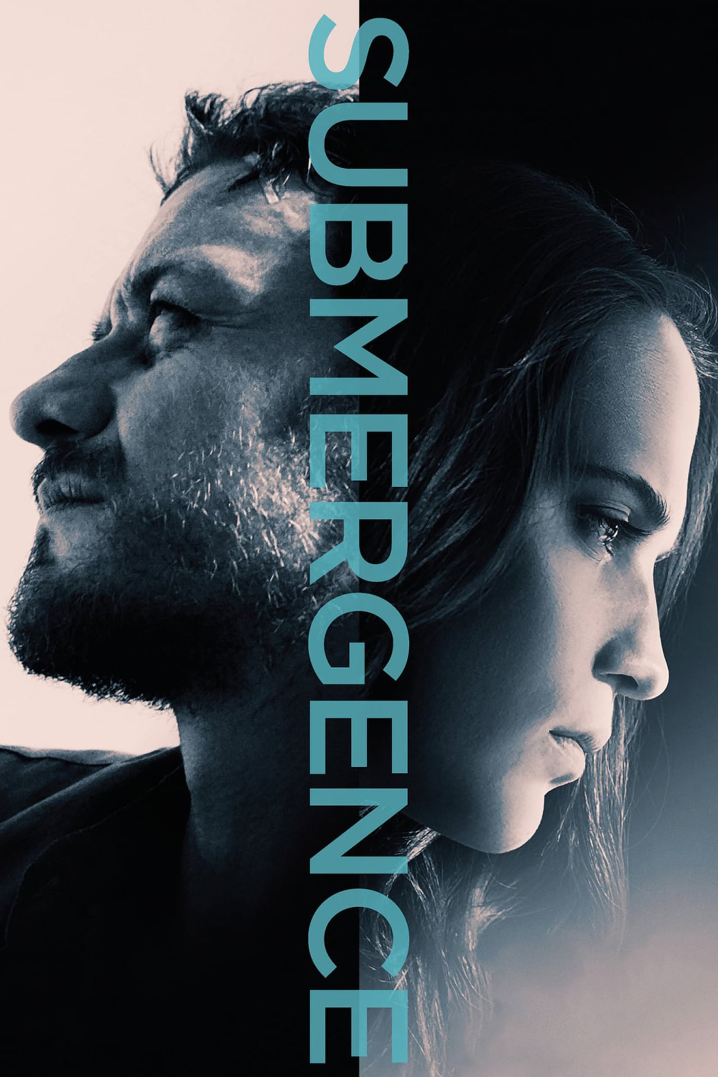 """Poster for the movie """"Submergence"""""""