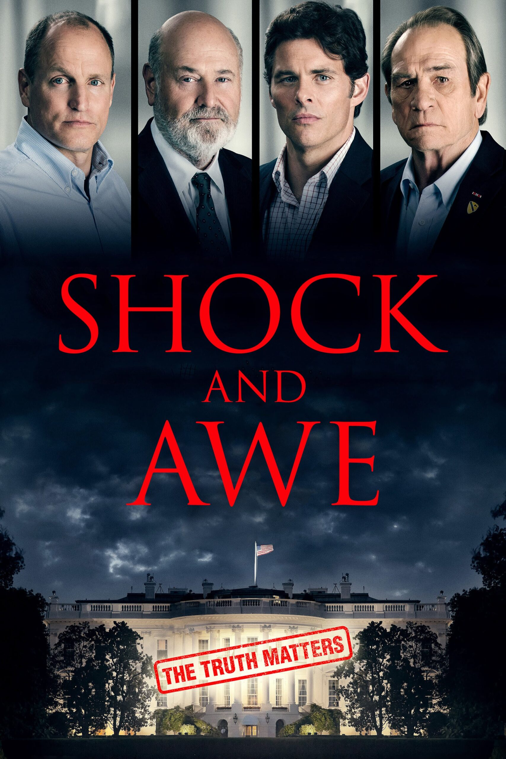 """Poster for the movie """"Shock and Awe"""""""