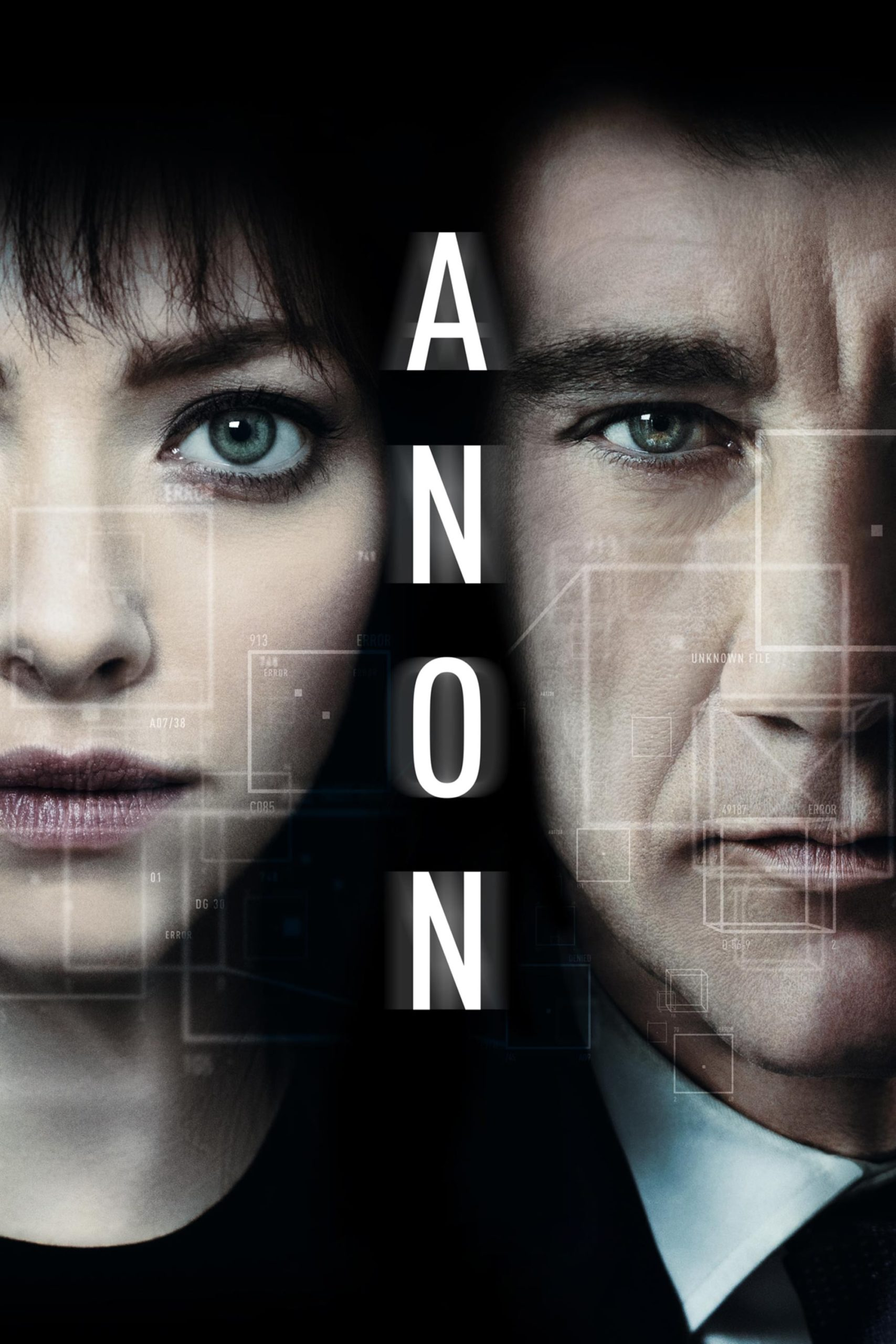 """Poster for the movie """"Anon"""""""