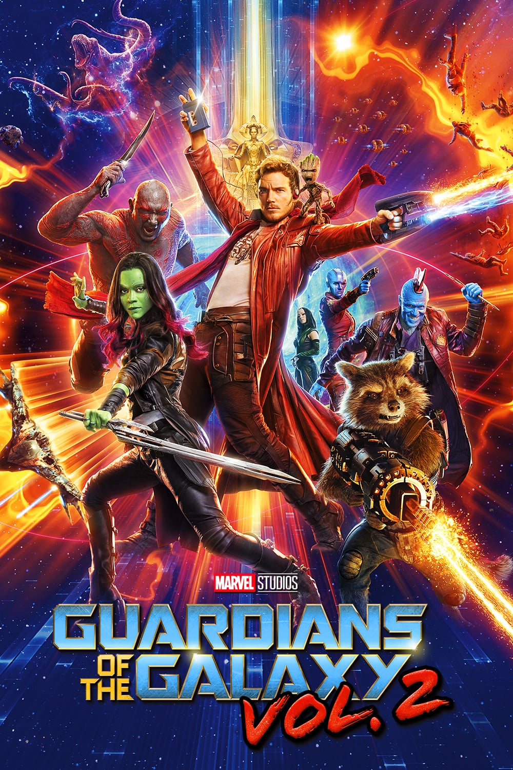 """Poster for the movie """"Guardians of the Galaxy Vol. 2"""""""