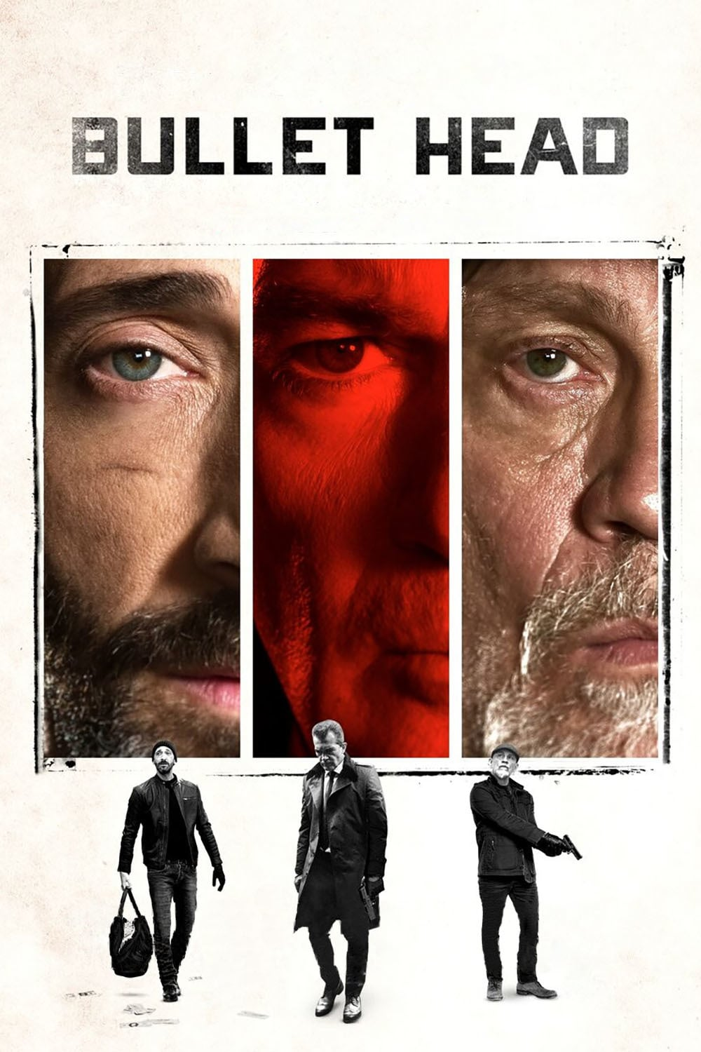 """Poster for the movie """"Bullet Head"""""""