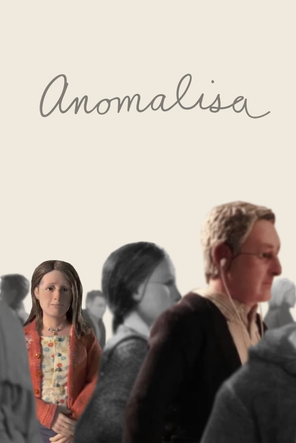 "Poster for the movie ""Anomalisa"""