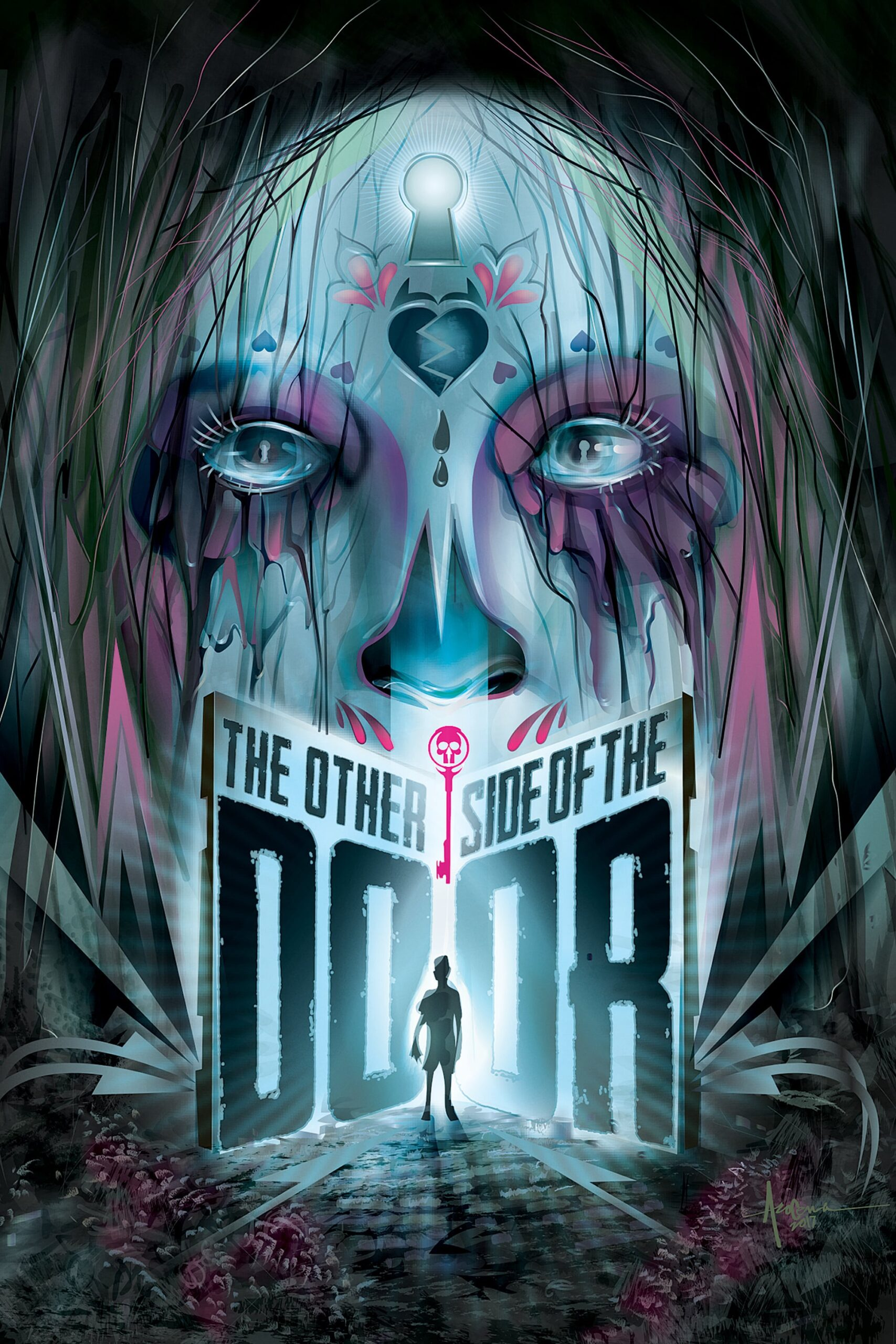 """Poster for the movie """"The Other Side of the Door"""""""