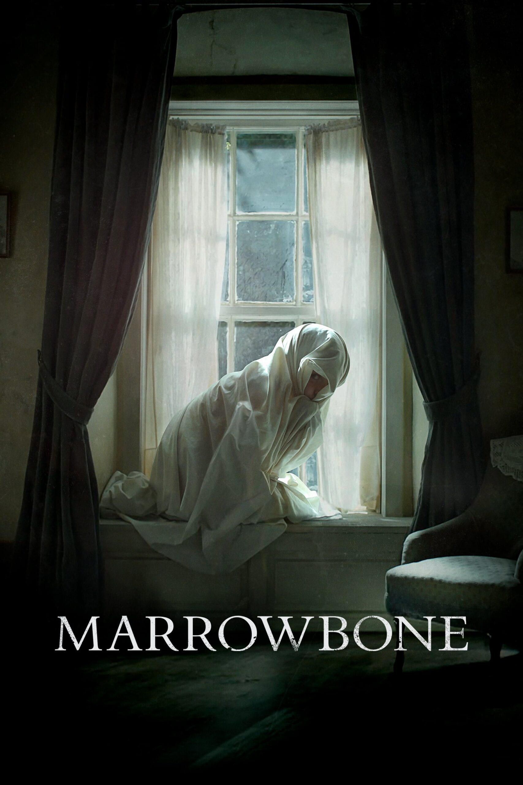 """Poster for the movie """"Marrowbone"""""""