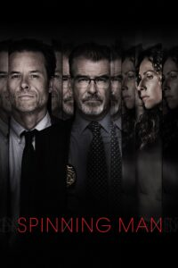 """Poster for the movie """"Spinning Man"""""""