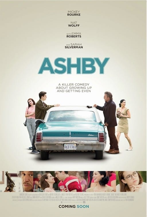 "Poster for the movie ""Ashby"""