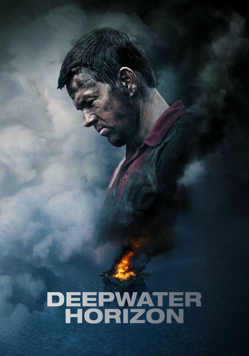 "Poster for the movie ""Deepwater Horizon"""