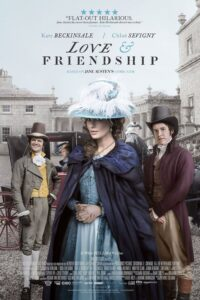 """Poster for the movie """"Love & Friendship"""""""