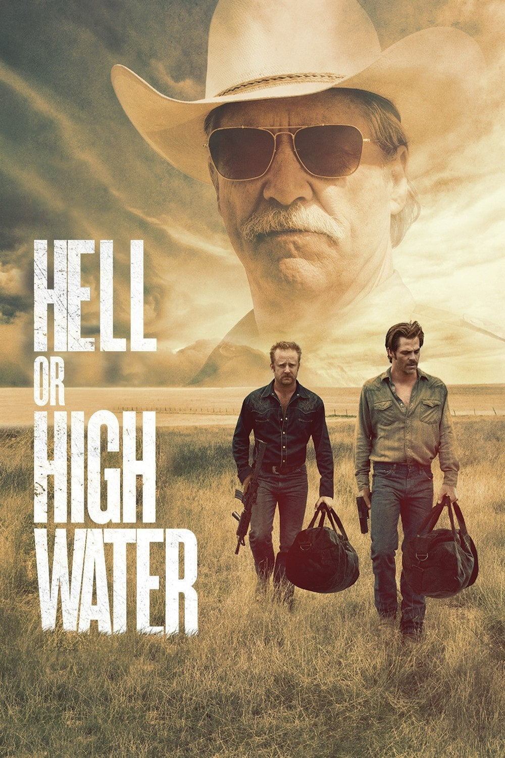 """Poster for the movie """"Hell or High Water"""""""