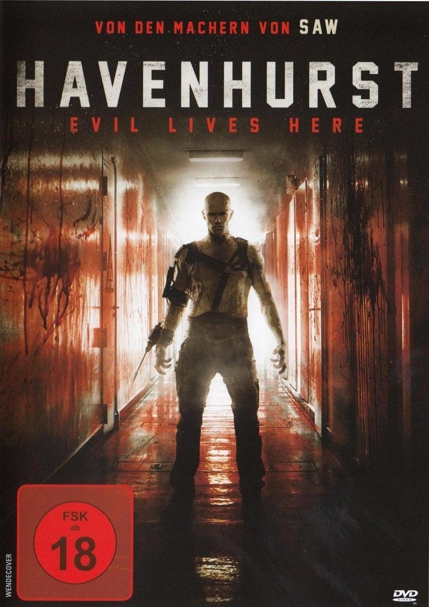"""Poster for the movie """"Havenhurst"""""""