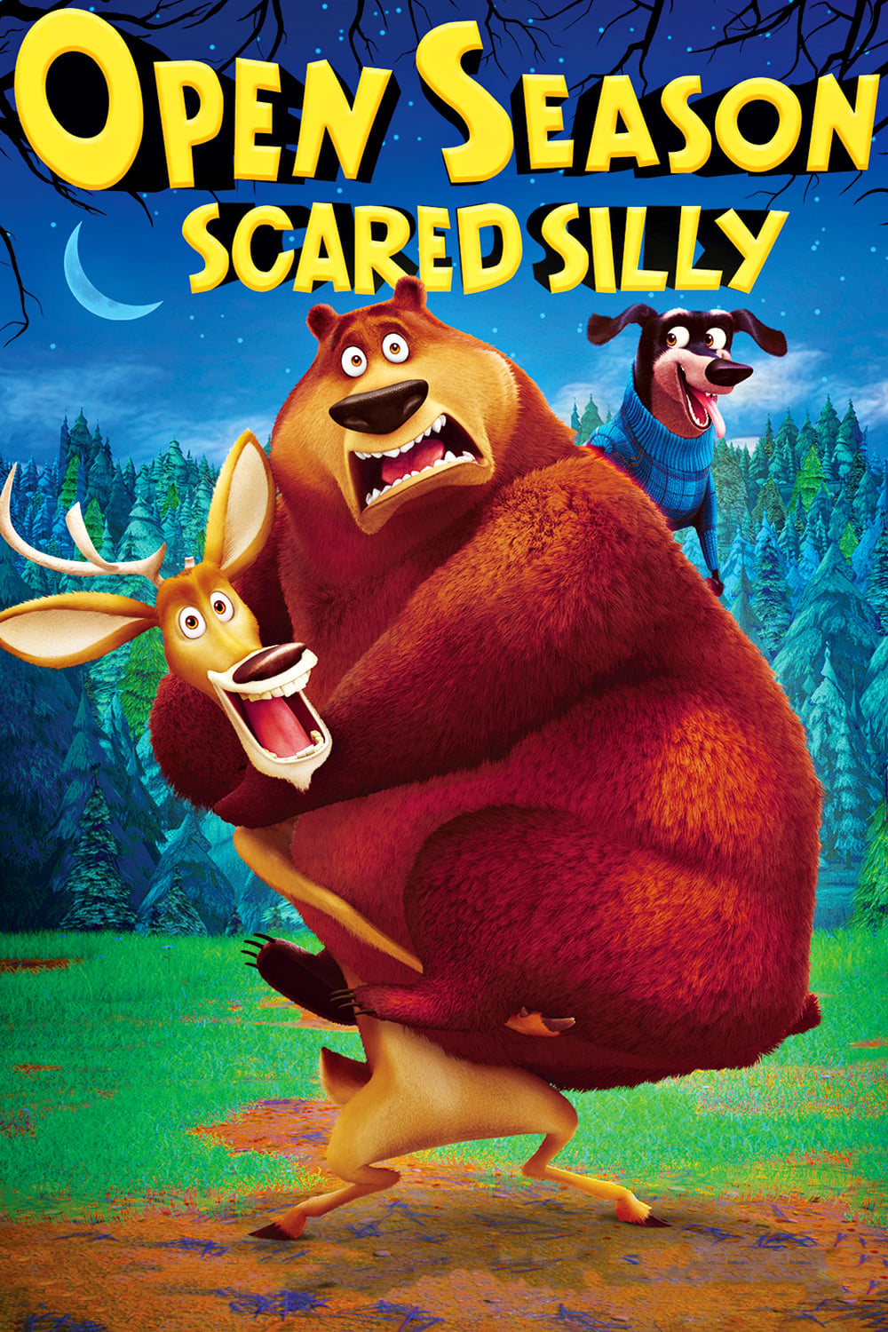 """Poster for the movie """"Open Season: Scared Silly"""""""