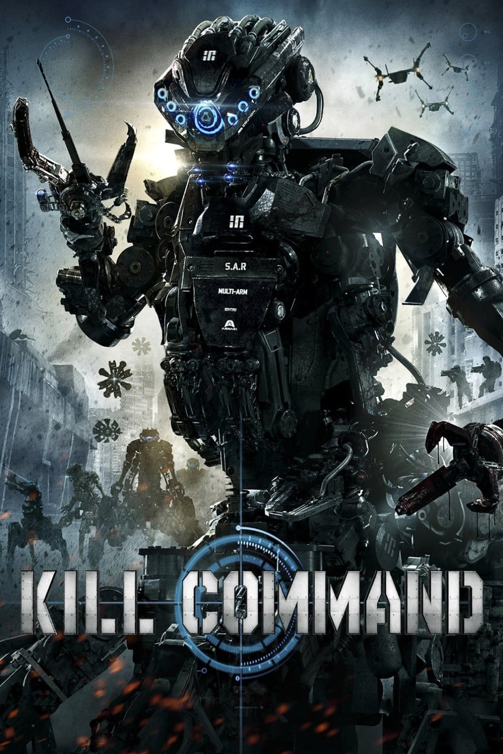 """Poster for the movie """"Kill Command"""""""