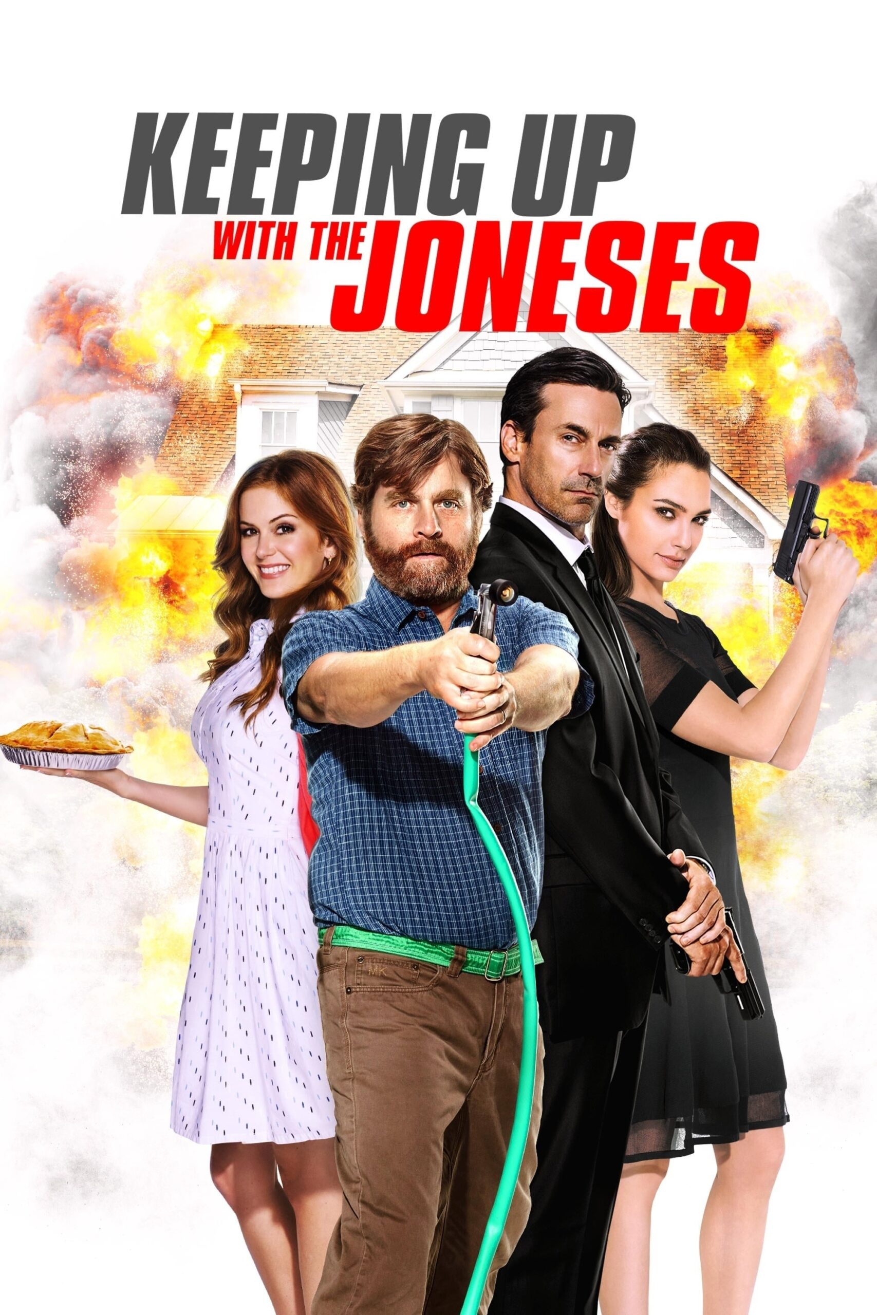 """Poster for the movie """"Keeping Up with the Joneses"""""""