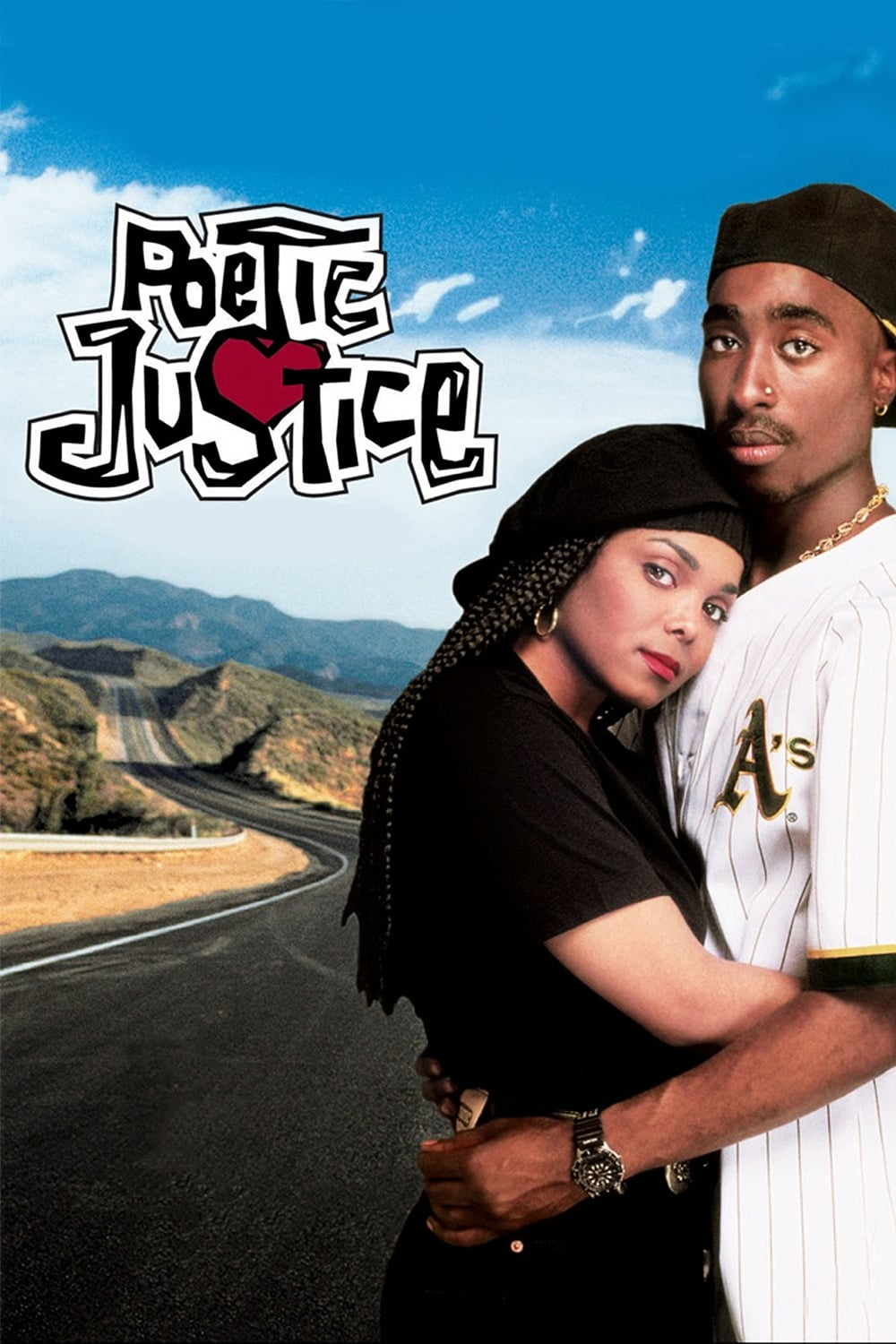 """Poster for the movie """"Poetic Justice"""""""