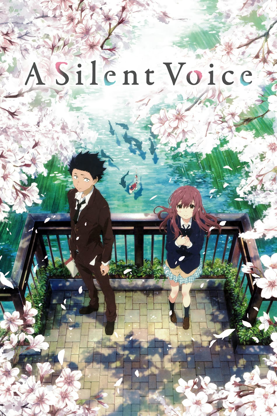 """Poster for the movie """"A Silent Voice"""""""