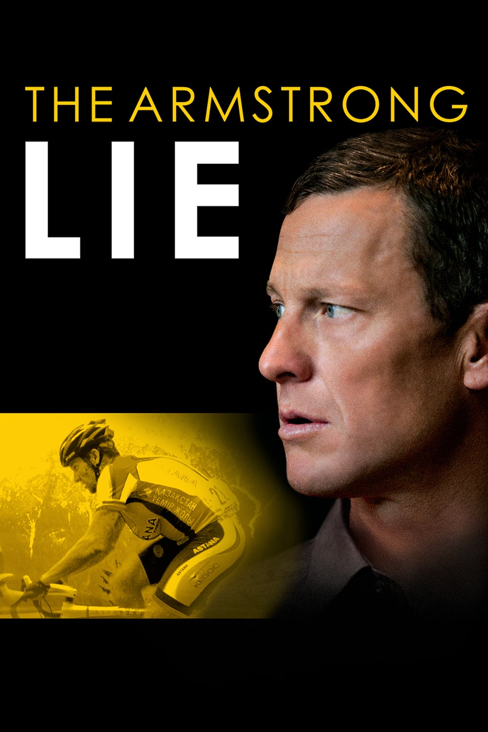 """Poster for the movie """"The Armstrong Lie"""""""