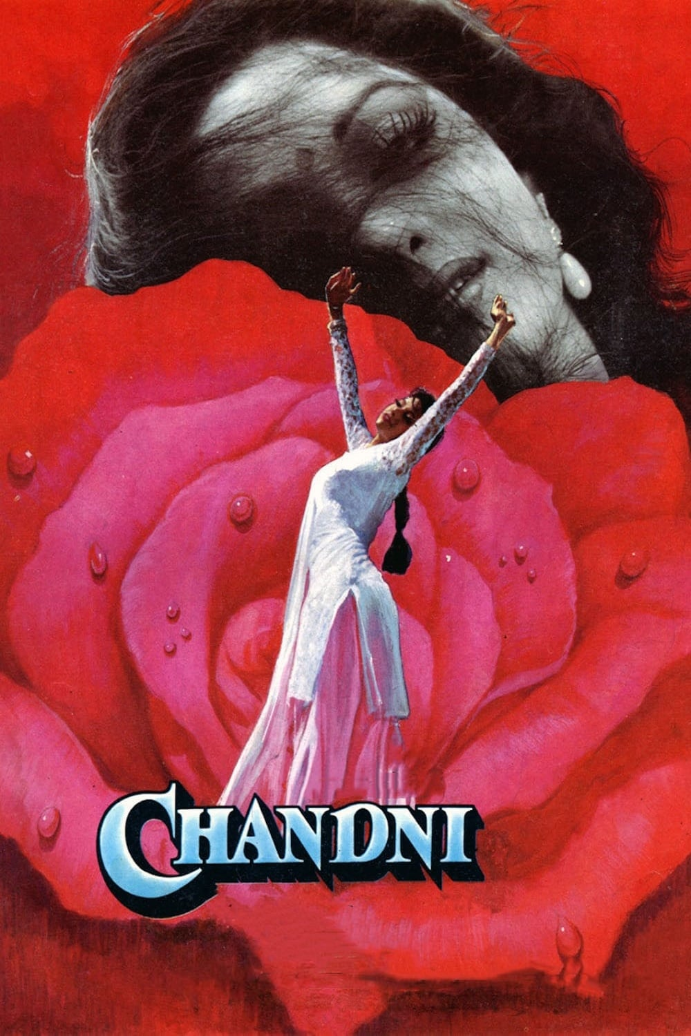 "Poster for the movie ""Chandni"""