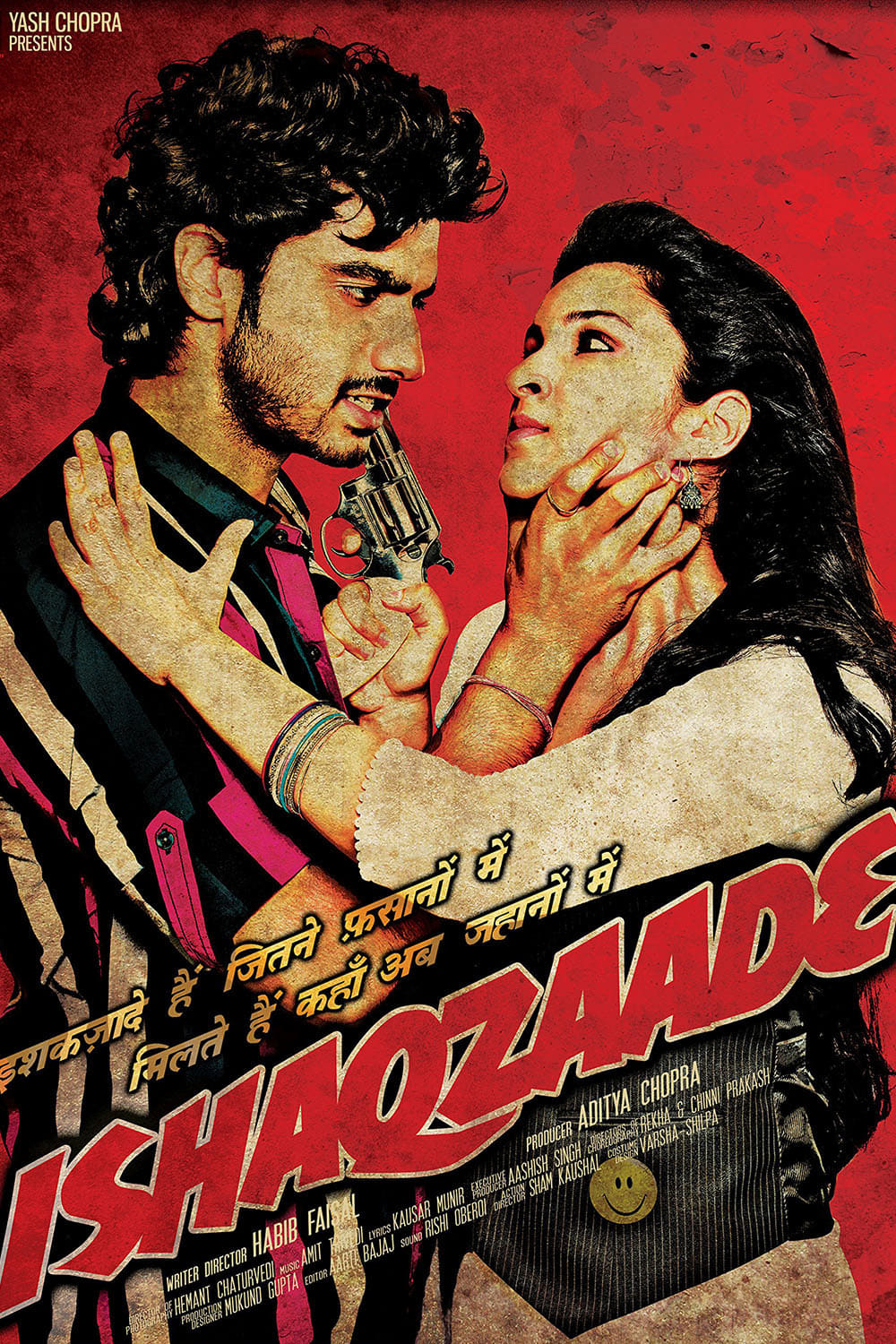 "Poster for the movie ""Ishaqzaade"""