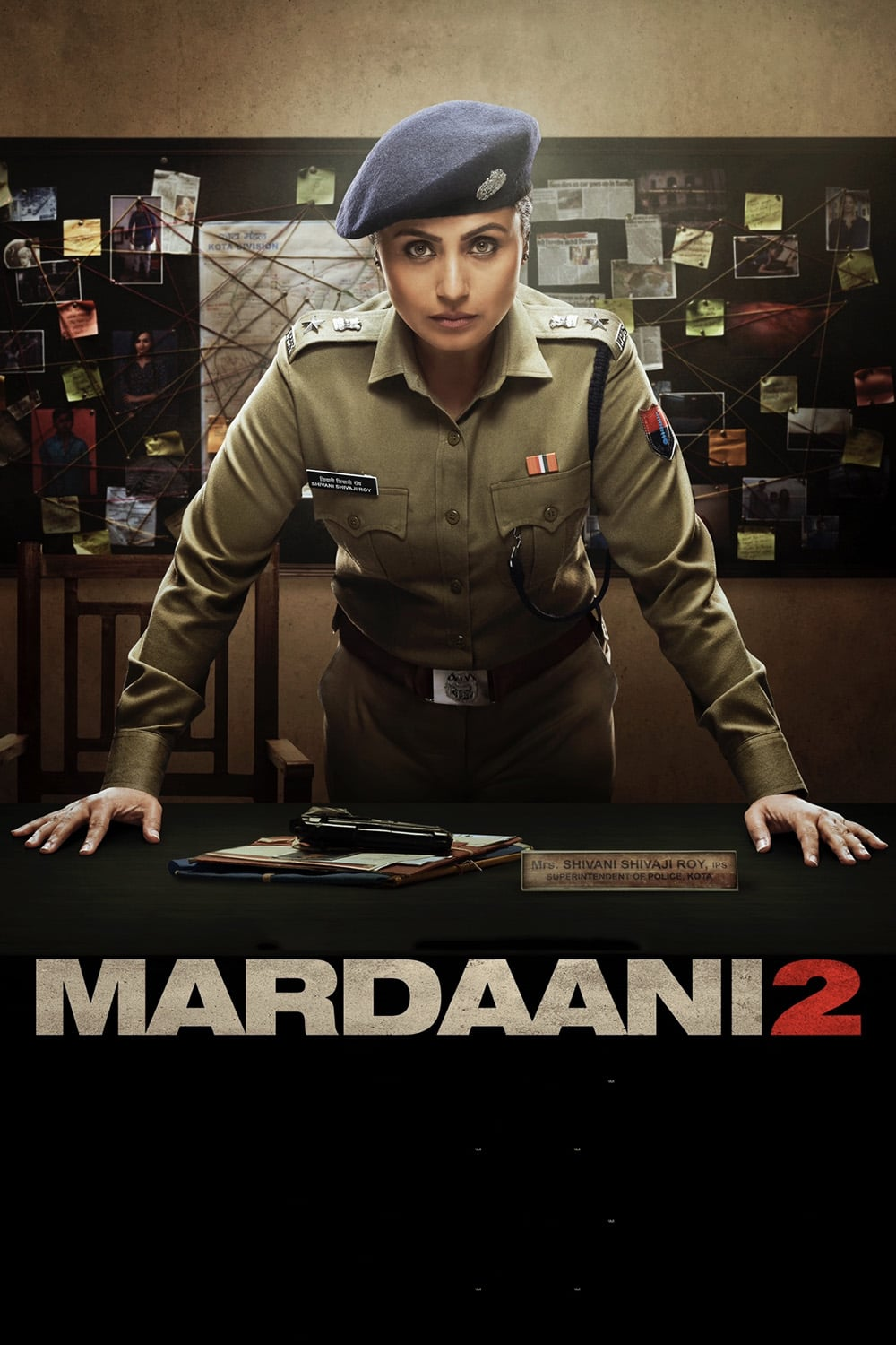 "Poster for the movie ""Mardaani 2"""