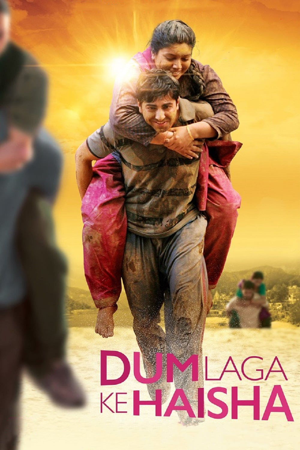 "Poster for the movie ""Dum Laga Ke Haisha"""