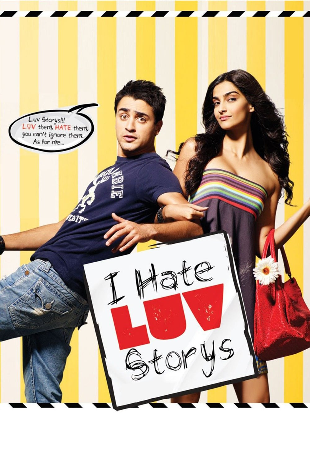 "Poster for the movie ""I Hate Luv Storys"""