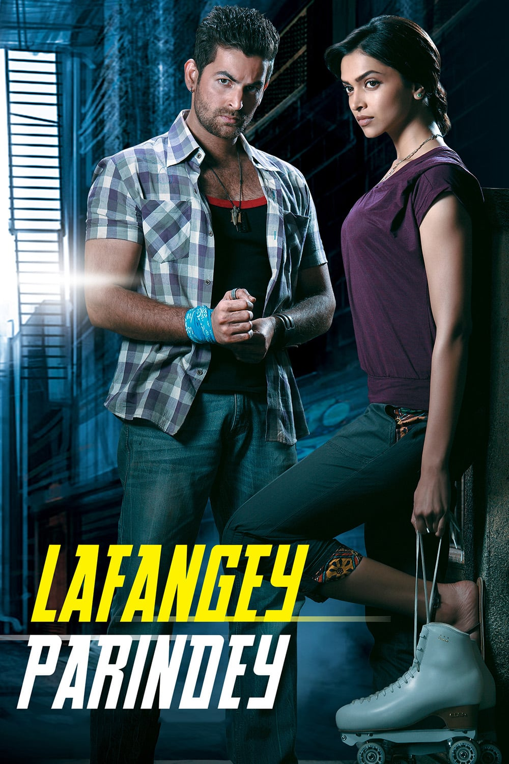 "Poster for the movie ""Lafangey Parindey"""