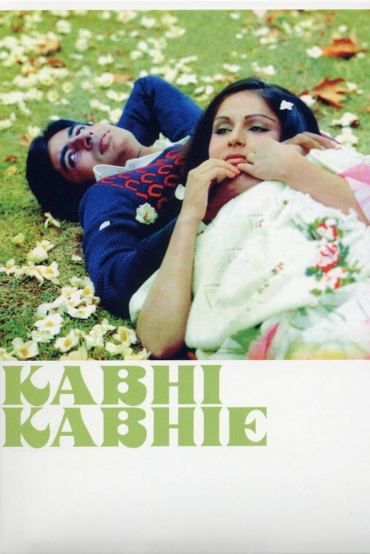 "Poster for the movie ""Kabhi Kabhie"""