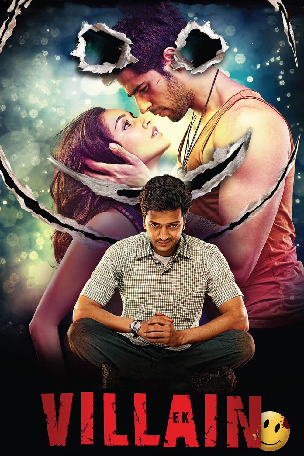 "Poster for the movie ""Ek Villain"""