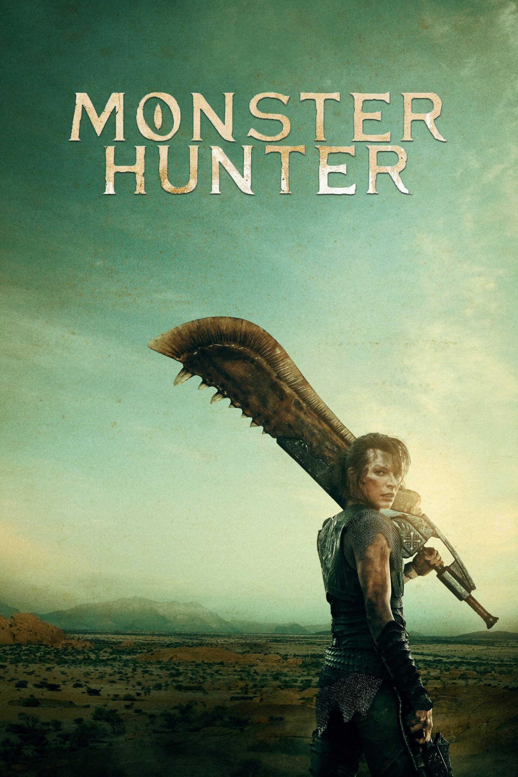 "Poster for the movie ""Monster Hunter"""