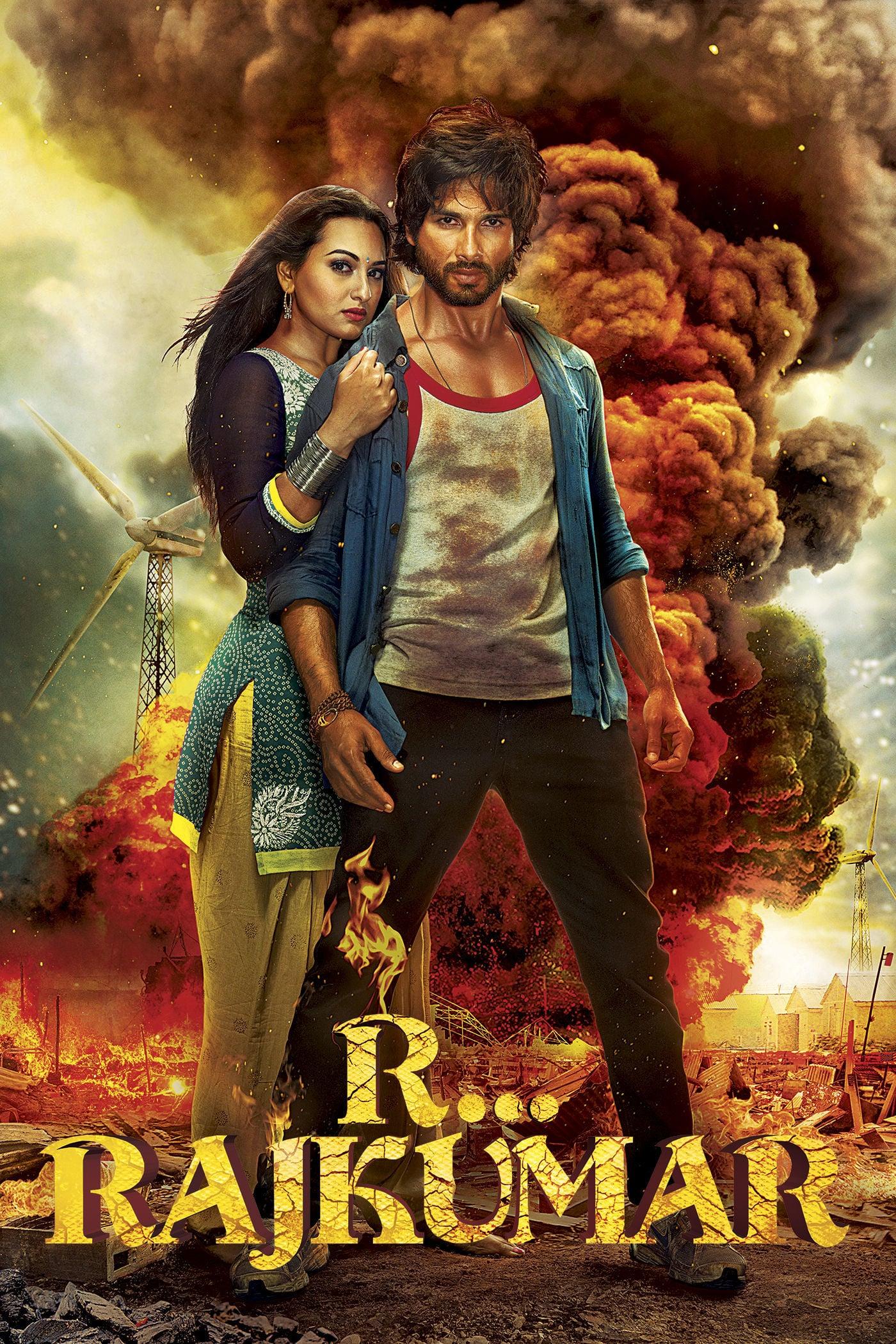 "Poster for the movie ""R... Rajkumar"""