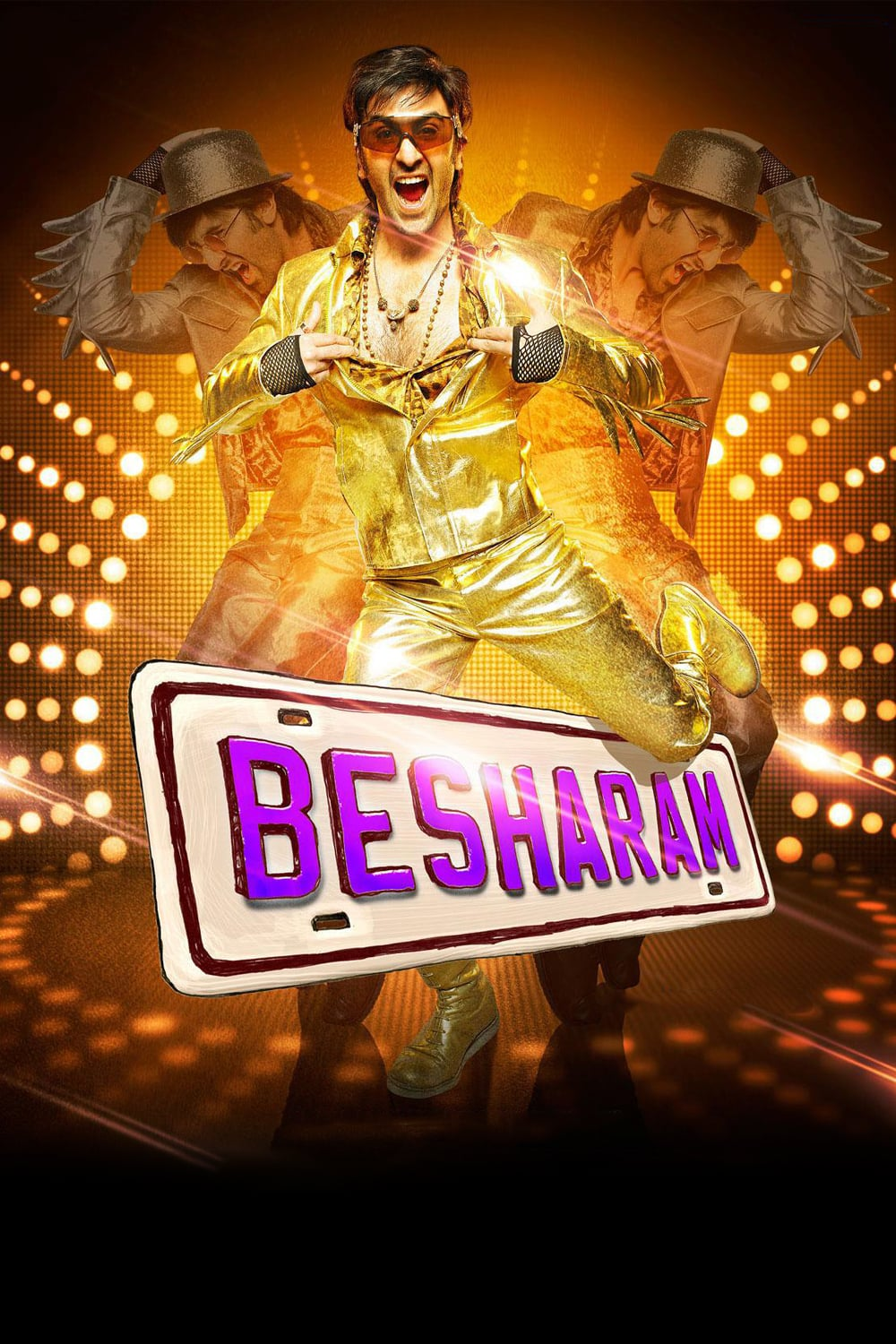 """Poster for the movie """"Besharam"""""""
