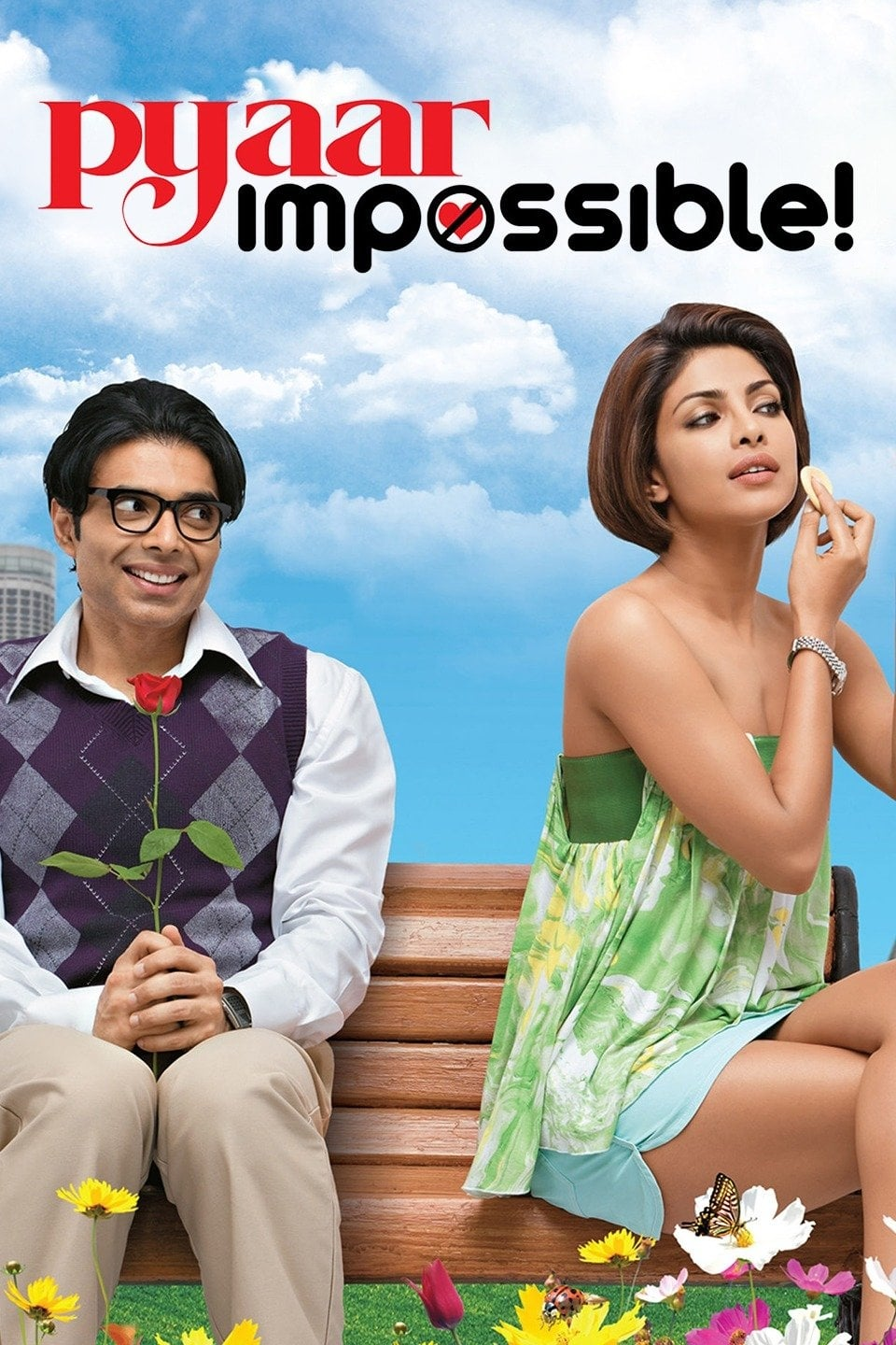 """Poster for the movie """"Pyaar Impossible!"""""""
