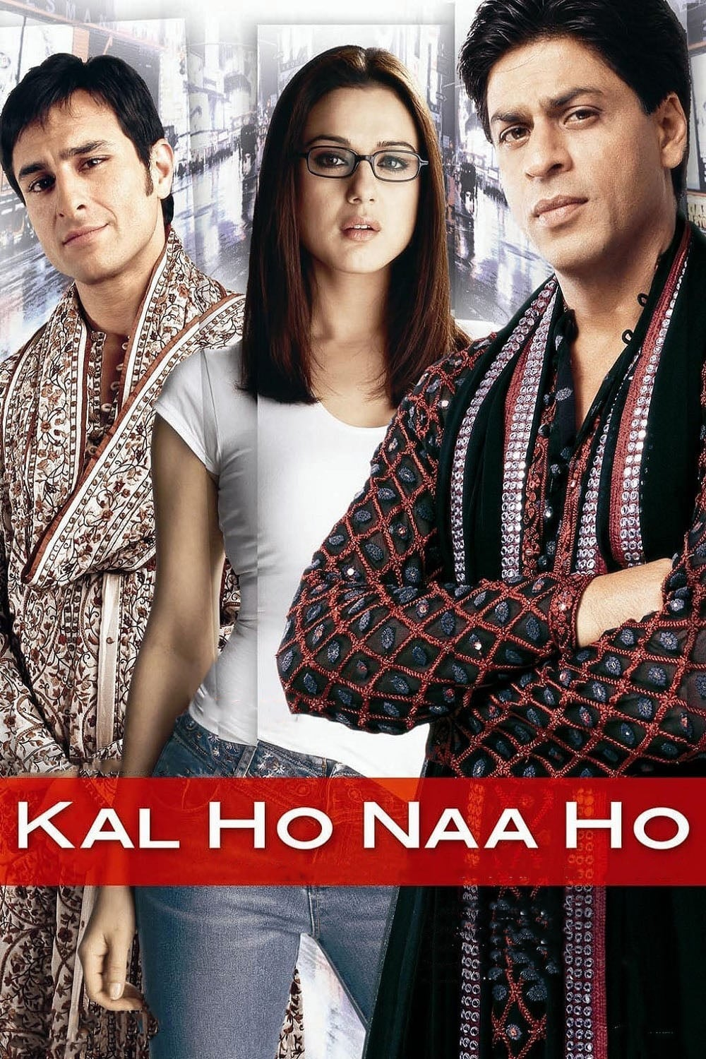 """Poster for the movie """"Kal Ho Naa Ho"""""""